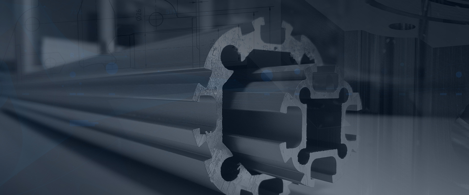 tube profil profilé aluminium lean manufacturing modulaire robuste