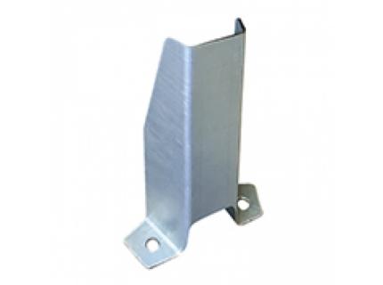 METALCHOC ML - sabot métallique galva pour la protection des rayonnages mi-lourd. Produit novateur, Made in France, SODEFI