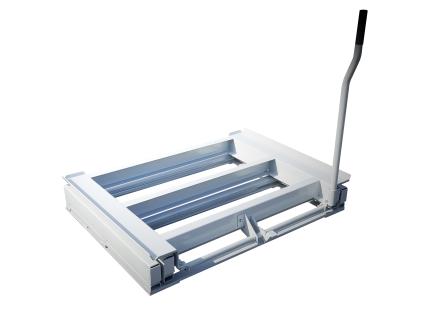 Tiroir à palette forte capacité et haute résistance, à ouverture totale - Made in France SODEFI. Outil ergonomique qui optimise le stockage et la productivité