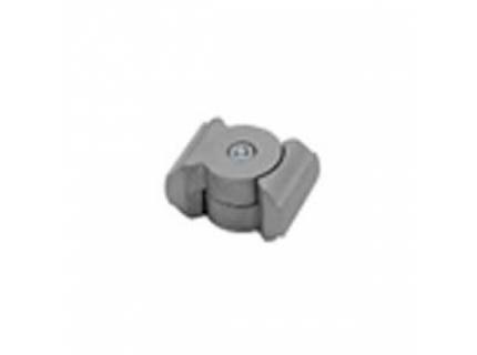 Joint d'angle pour barre aluminium diamètre 28 mm
