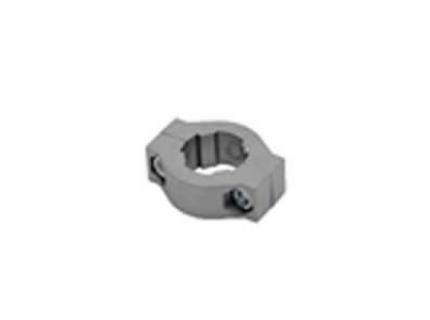 Anneau d'arrêt vertical en deux parties pour barre aluminium diamètre 28 mm
