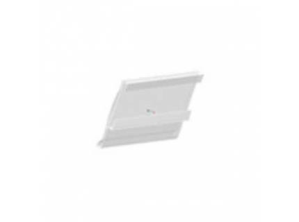Support étiquette pour barre aluminium diamètre 28 mm – longueur 3,5 ml