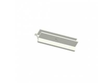 Support pour panneau pour barre aluminium diamètre 28 mm – longueur 4 ml