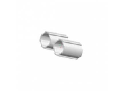Profilé rond double ép 1,7 mm diamètre 28 mm – longueur 2 ml