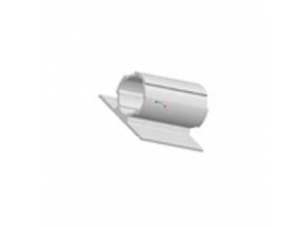 Profilé rond avec rebord double ép 1,7 mm diamètre 28 mm – longueur 2 ml