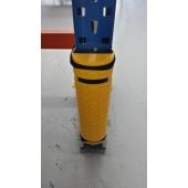 Le PLASTROCHOC est une protection rigide en PEHD qui se fixe directement sur le montant d'échelle à protéger grâce à deux colliers nylon. Il existe 4 références différentes selon la largeur du montant à protéger. Sa structure est alvéolaire.
