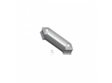 Connecteur 45° pour barre aluminium diamètre 28 mm