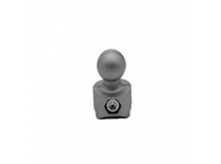 Connecteur « boule » pour barre aluminium diamètre 28 mm