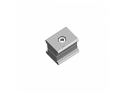 Connecteur parallèle pour barre aluminium diamètre 28 mm
