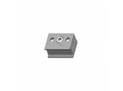 Connecteur accessoires pour barre aluminium diamètre 28 mm