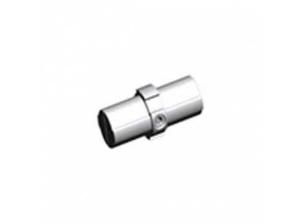 Connecteur droit intérieur pour barre aluminium diamètre 28 mm