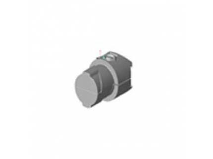 Multi connecteur intérieur pour barre aluminium diamètre 28 mm