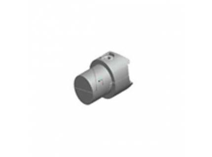 Multi connecteur rotatif intérieur pour barre aluminium diamètre 28 mm