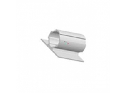 Profilé rond avec rebord double ép 1,7 mm diamètre 28 mm – longueur 4 ml