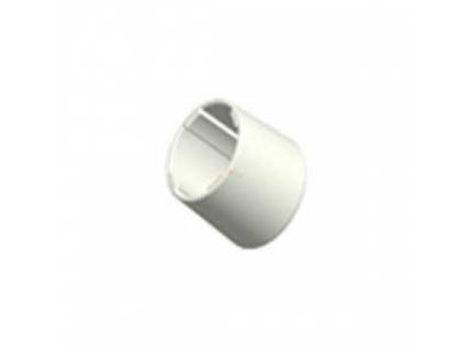 Pied caoutchouc pour barre aluminium diamètre 28 mm