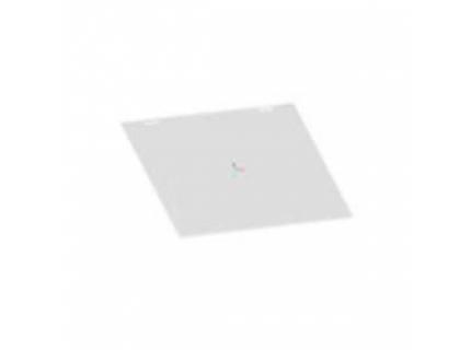 Support protection pour feuille A4 pour barre aluminium diamètre 28 mm